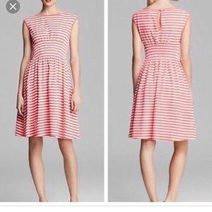 Kate Spade Leora Chevron Dress, size L